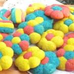 La Cometa Pasticciona ha fatto i biscotti colorati