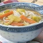 Zuppa di verdure un po' japan style