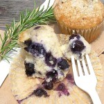 American breakfast – Blueberry muffin