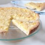 Crostata di mandorle con crema al limone