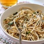 Spaghetti risottati alla birra con pecorino stagionato
