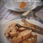 Cantuccini integrali con mandorle e arance candite (veg)