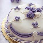 Torta lilla con pdz