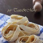 Taste&More – Pappardelle all'ananas su crema di ricotta e speck