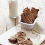 Biscotti al grano saraceno, crusca e uvetta