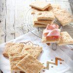 Cracker all'olio a lievitazione naturale