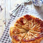 Torta di mele gluten free, con farina di mais e mandorle