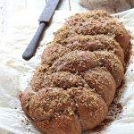 Pane di grano arso a lievitazione naturale