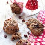 Biscotti ai cranberries con cous cous (vegan)