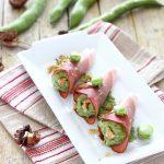 Fagottini di speck con fave, pecorino e noci – T&M 26
