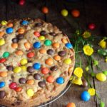 Torta cookies con crema di nocciole