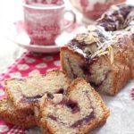 Cake mandorle e confettura alle fragole