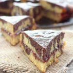Torta marmorizzata in padella