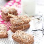 Biscotti integrali con avena e nocciole