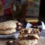 Cookies con cuore al cioccolato
