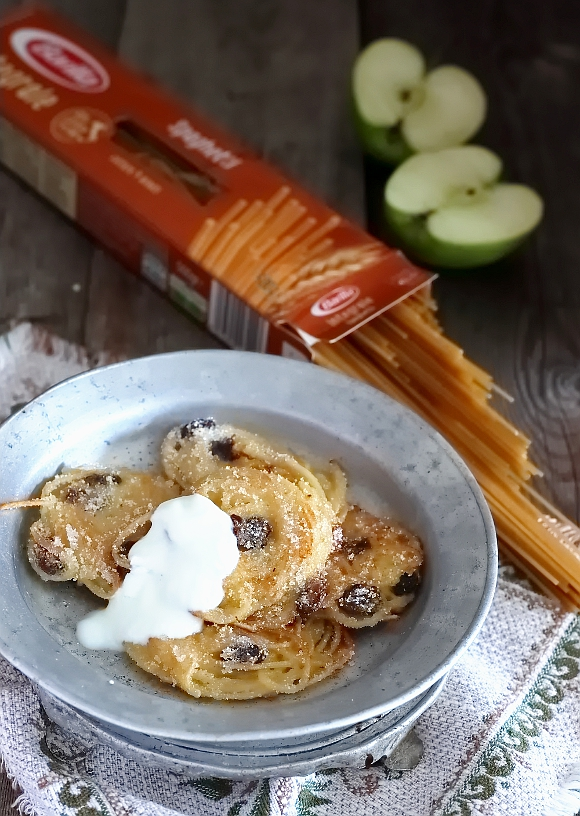 Frittelle Dolci Di Natale.Frittelle Dolci Di Spaghetti Saltando In Padella