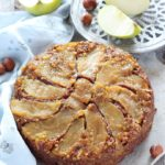 Torta rovesciata mele e nocciole