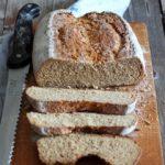 Soda bread integrale alla segale e orzo