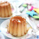 Crème caramel di casa mia (sul fornello)